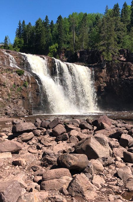 Watterfall in the Northwoods
